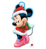 Life-size Holiday Minnie Mouse - Limited Time Edition! Cardboard Standup | Cardboard Cutout