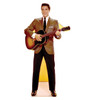 Life-size Elvis Sportscoat Guitar - Talking Cardboard Standup