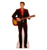 Life-size Elvis with Guitar Cardboard Standup