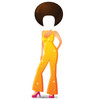 Life-size Cartoon Disco Dancer Standin Cardboard Standup
