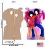 70's Disco Dance Couple Standin Front and Back View