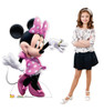 Life-size Minnie Mouse Dancing Cardboard Standup with Model