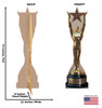 Life-size Star Award Cardboard Standup