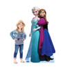 Elsa and Anna - Disney's Frozen Cardboard Cutout with model