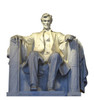 Life-size Lincoln Memorial Cardboard Standup