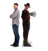 Lifesize Cardboard Cutout Standee of Freddy Krueger from the A Nightmare on Elm Street