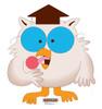 Life-size Mr. Owl - Tootsie Roll Cardboard Standup