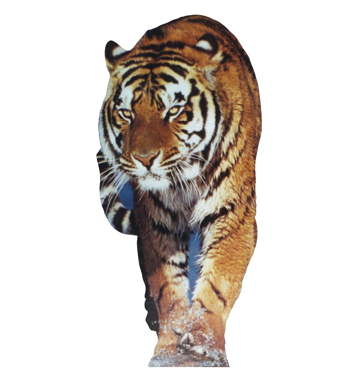 Life-size Tiger Cardboard Standup