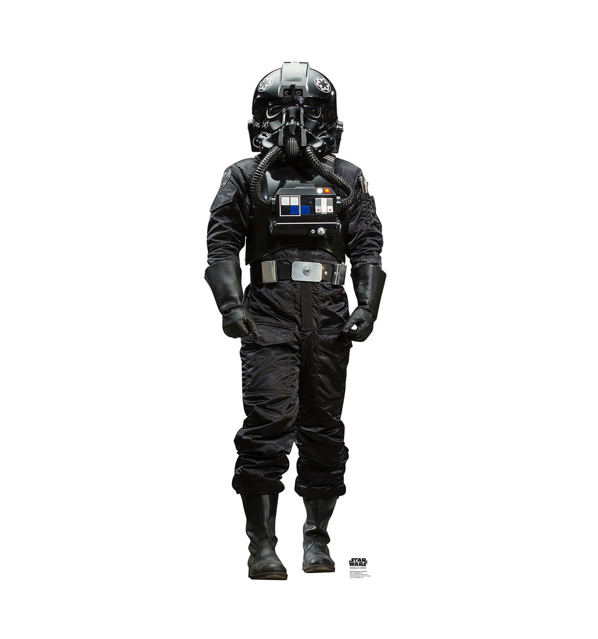 Atmospheric TIE Pilot - Rogue One - Cardboard Cutout Front View