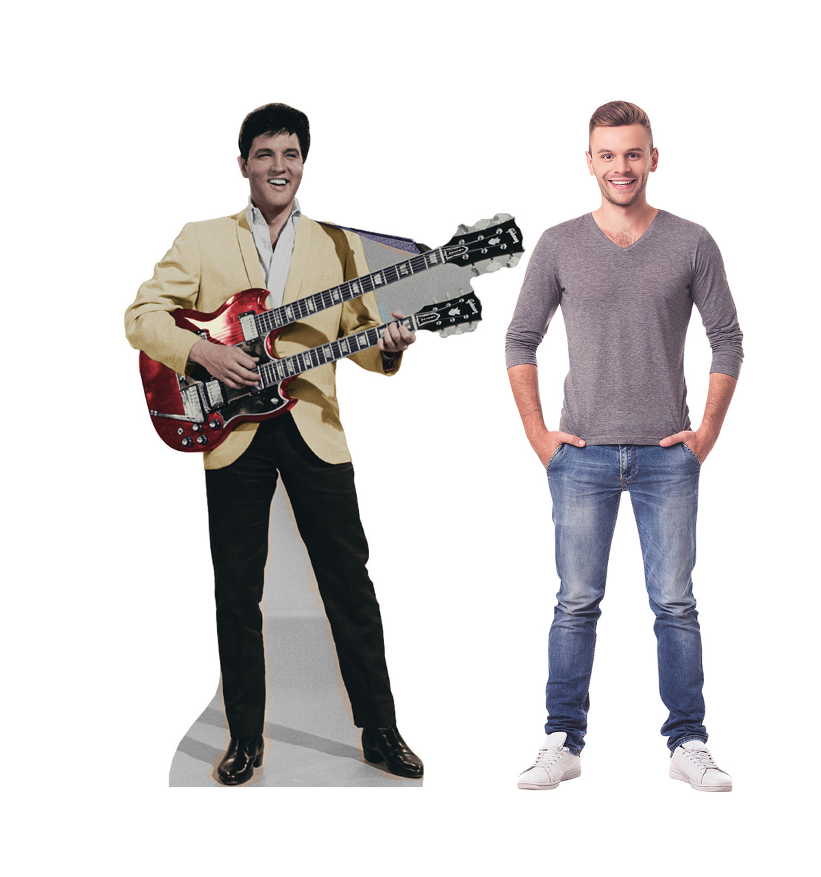Elvis Yellow Jacket - Cardboard Cutout 845