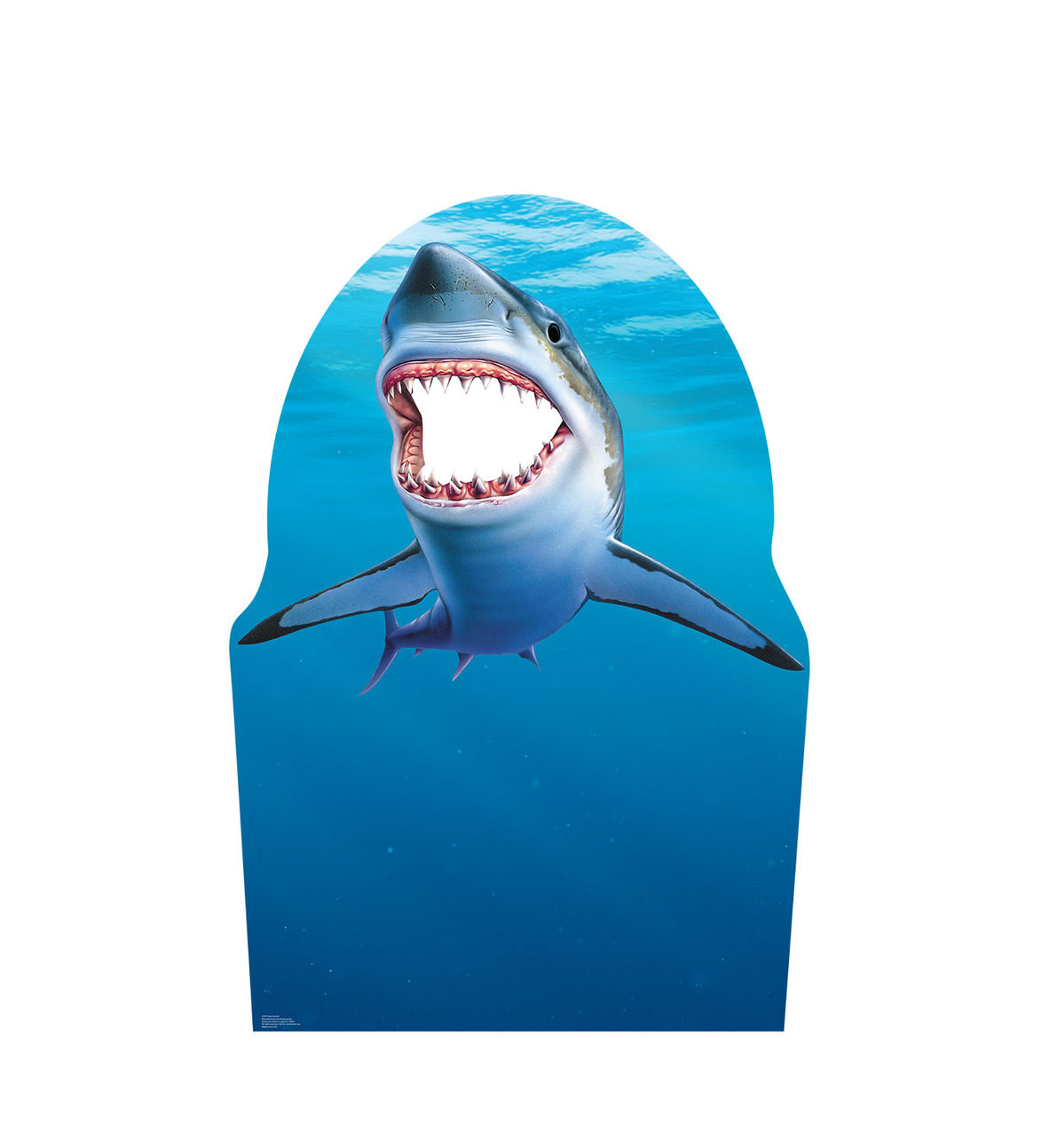 Life-size Shark Stand-In Cardboard Standup