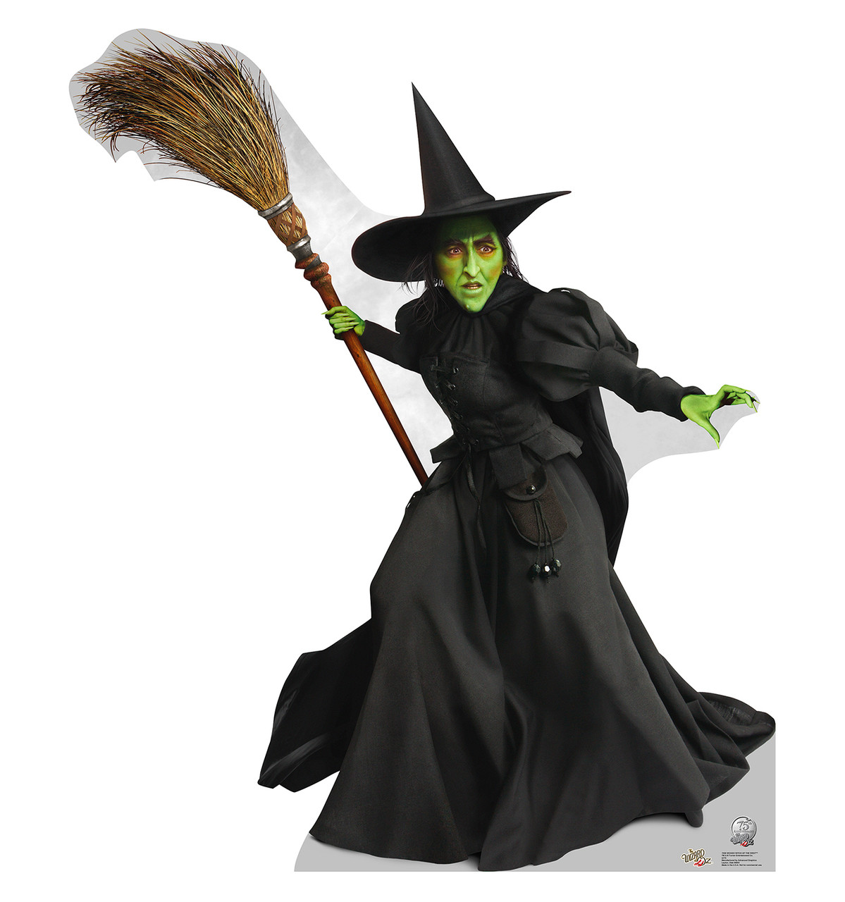 Life-size Wicked Witch of the West - Wizard of Oz 75th Anniversary Cardboard Standup
