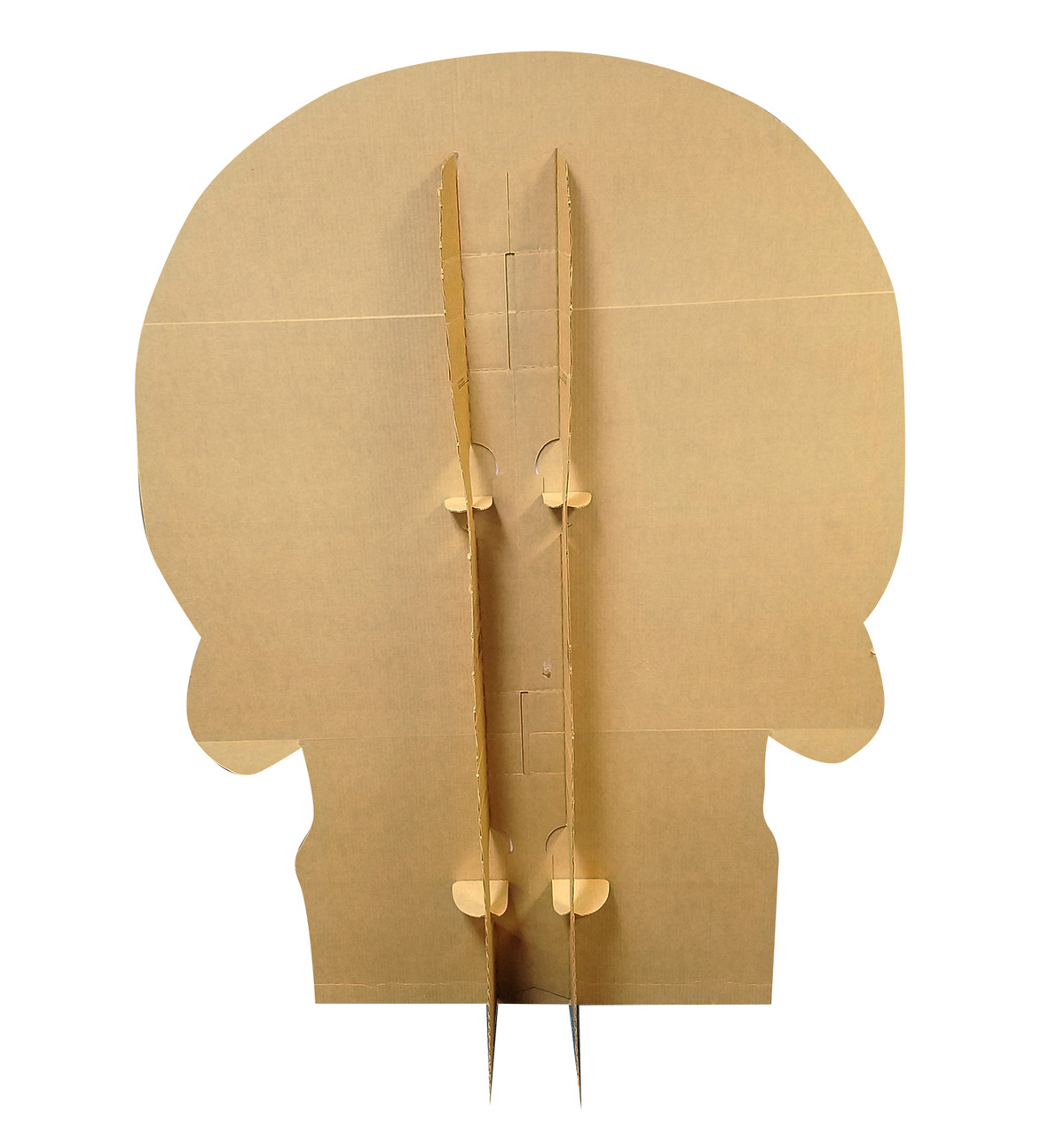 Life-size Day of the Dead Skull Cardboard Standup