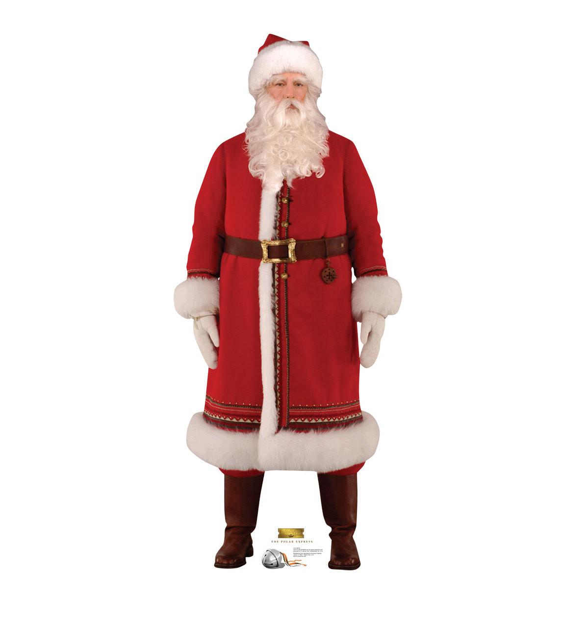 Life-size Santa - The Polar Express Cardboard Standup