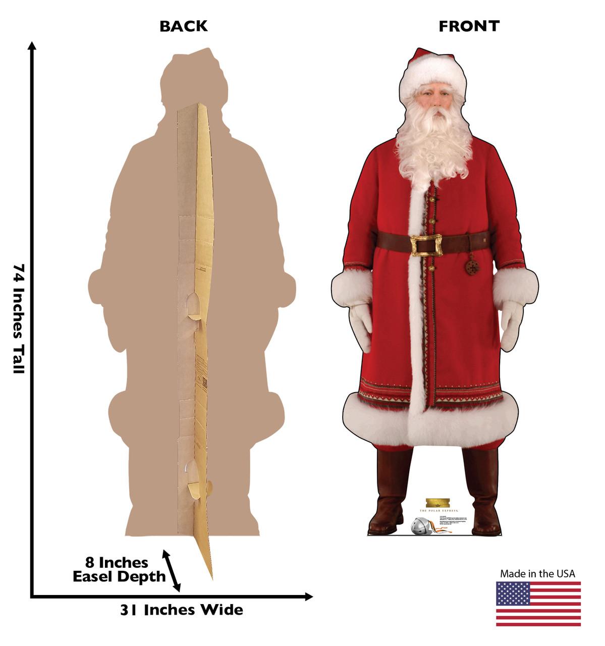 Santa - The Polar Express - Cardboard Cutout