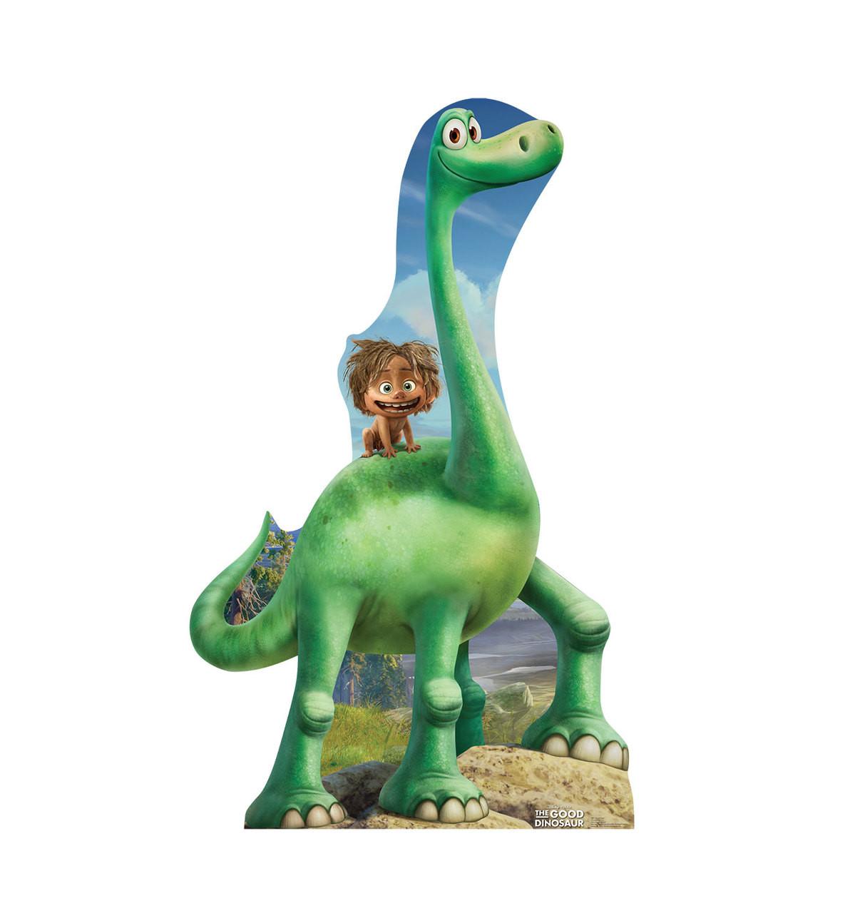Life-size Arlo and Spot - The Good Dinosaur Cardboard Standup