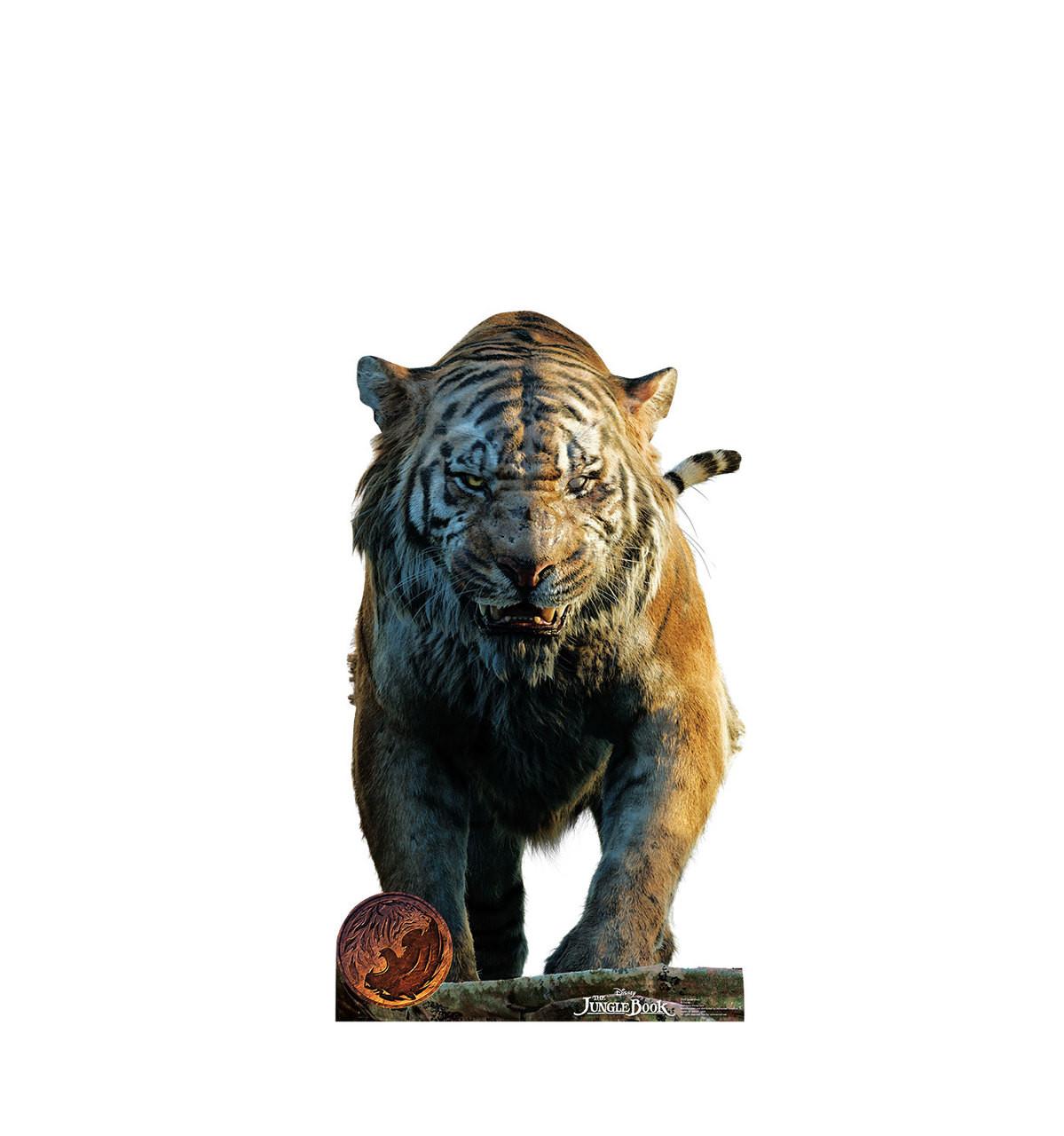 Life-size Shere Khan - The Jungle Book Cardboard Standup