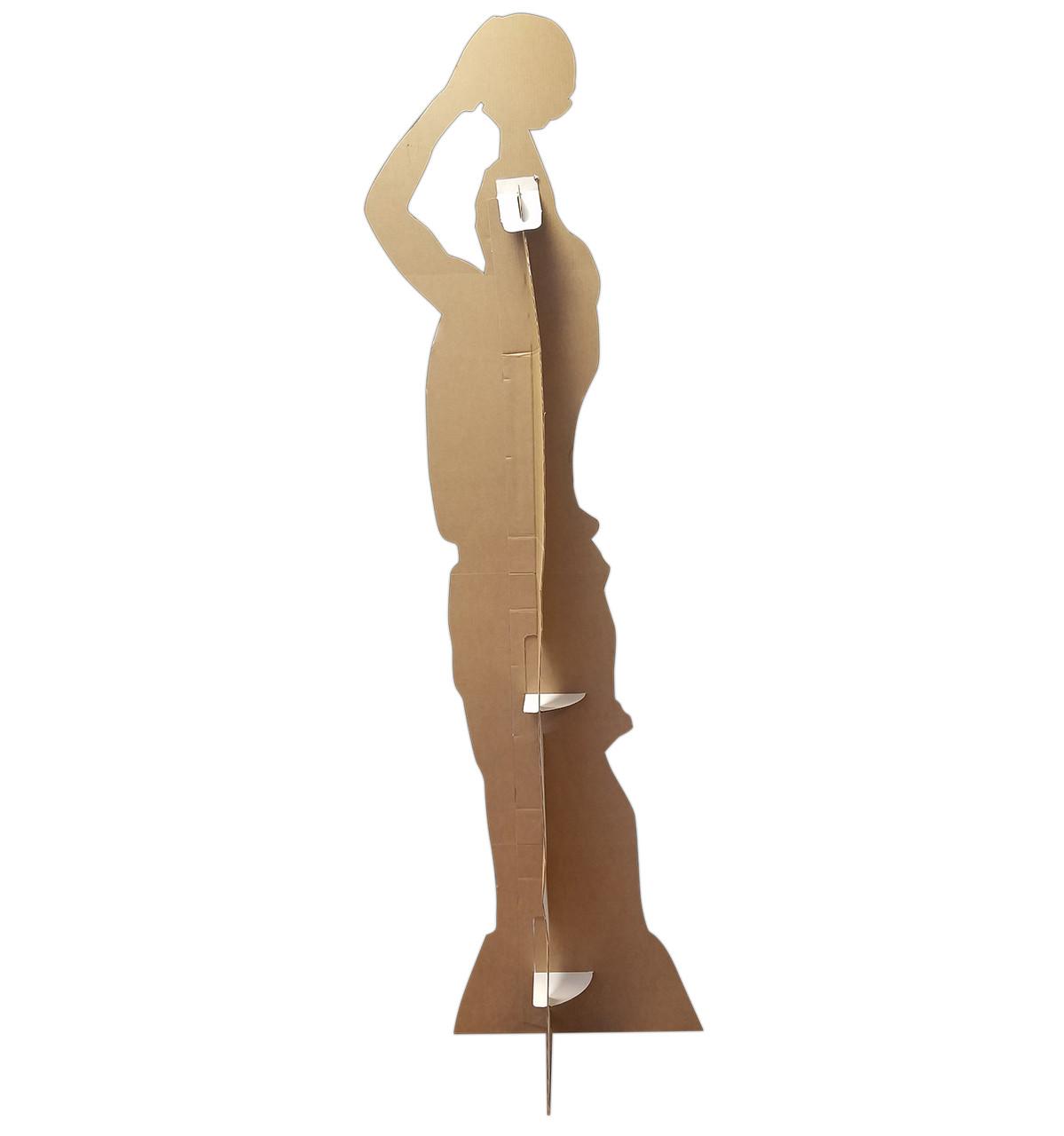 Life-size Basketball Player Shooting Silhouette Cardboard Standup