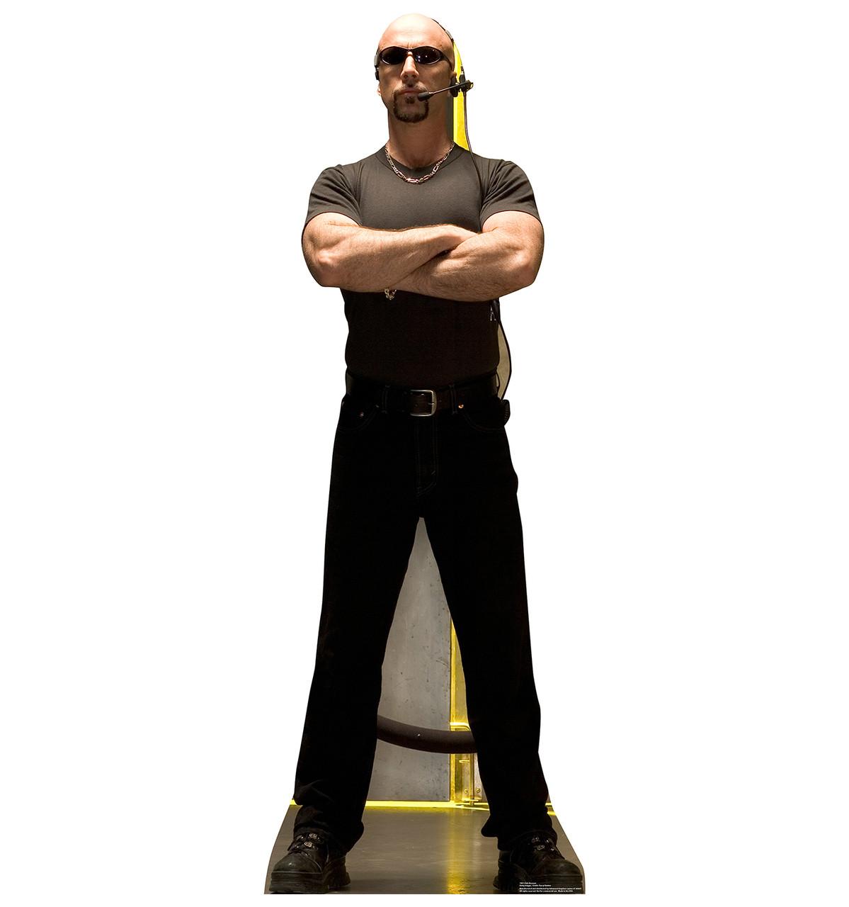 Life-size Club Bouncer Cardboard Standup
