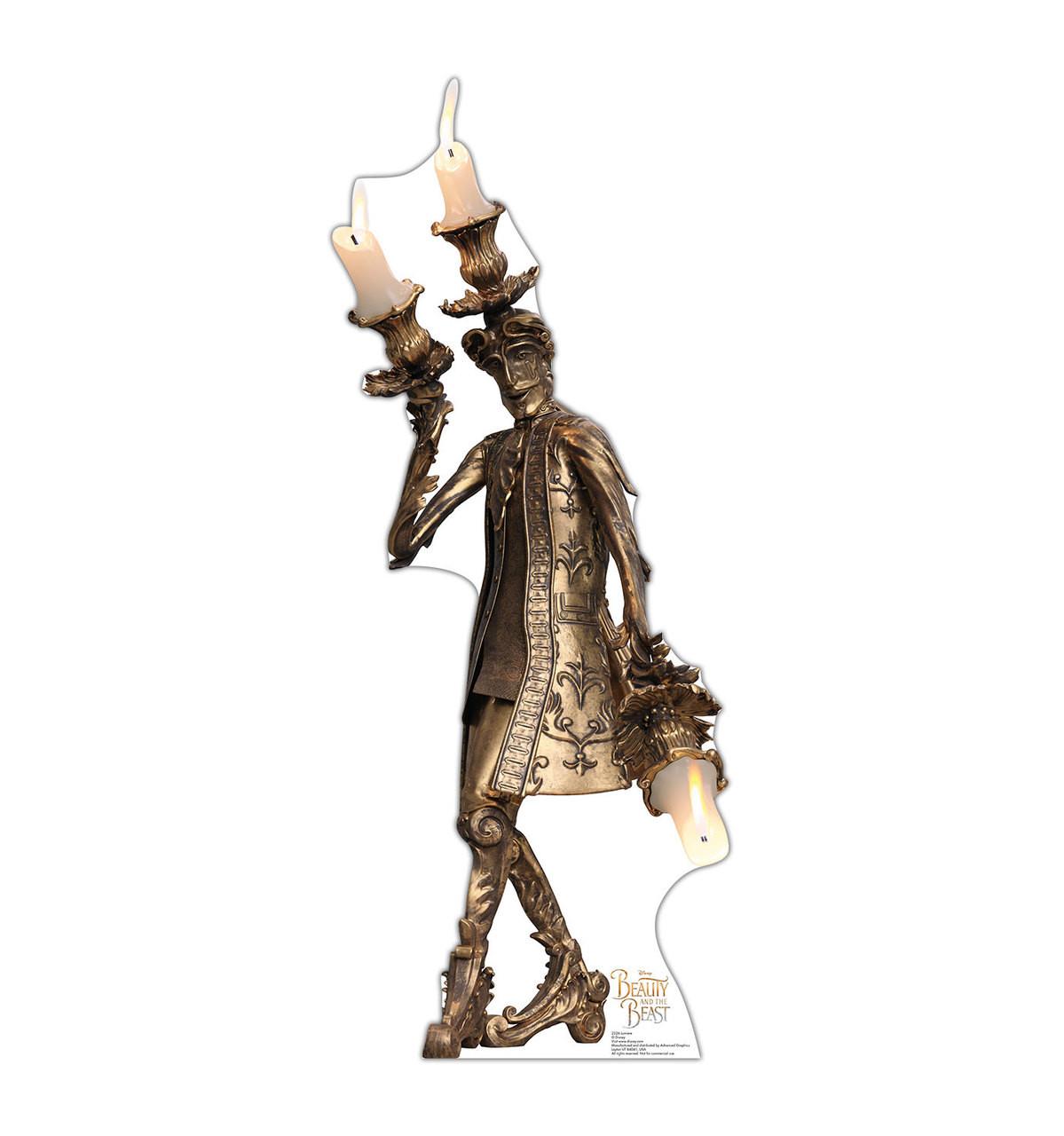 Lumiere - Disney's Beauty and the Beast - Cardboard Cutout
