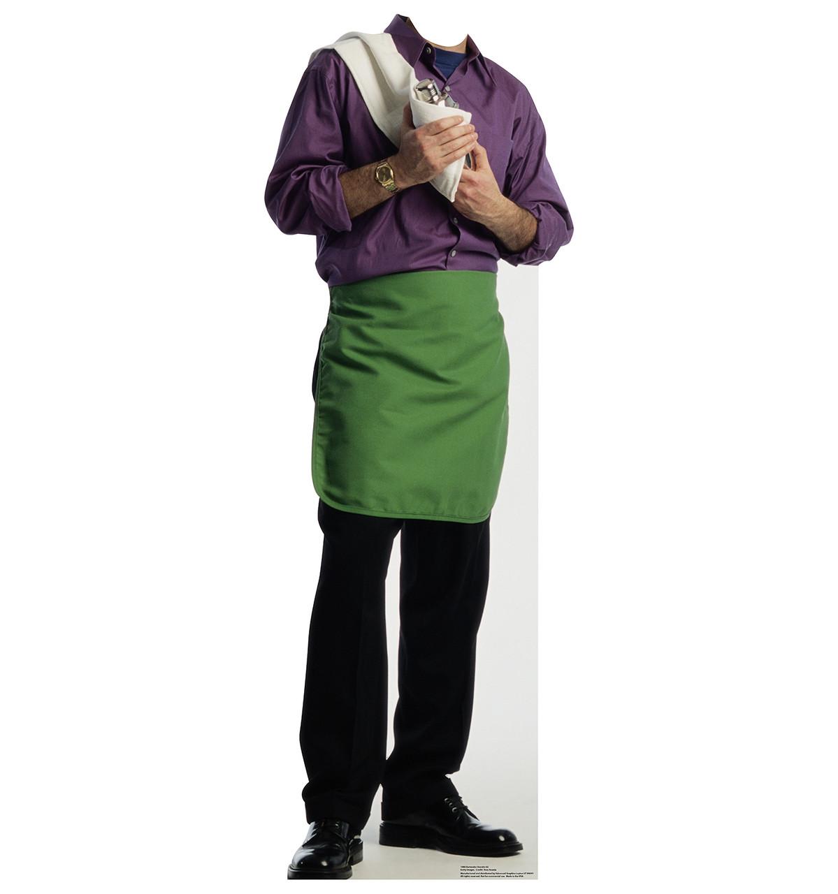 Green Apron Bartender Standin