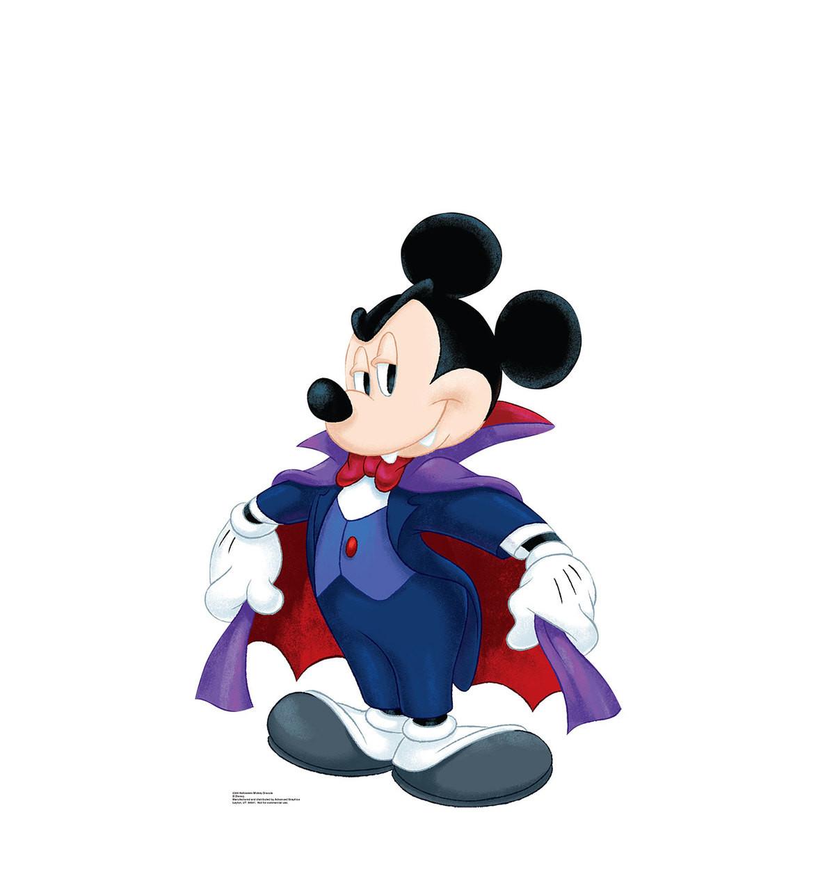 Halloween Mickey Dracula - Cardboard Cutout 2348