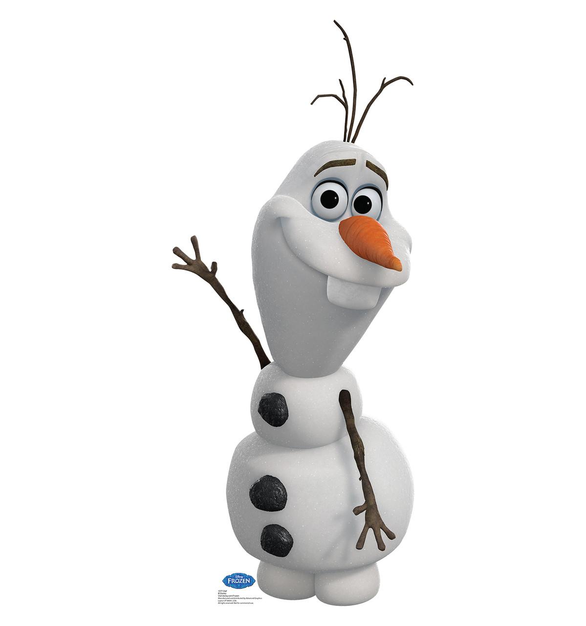 Life-size Olaf - Disney's Frozen Cardboard Standup