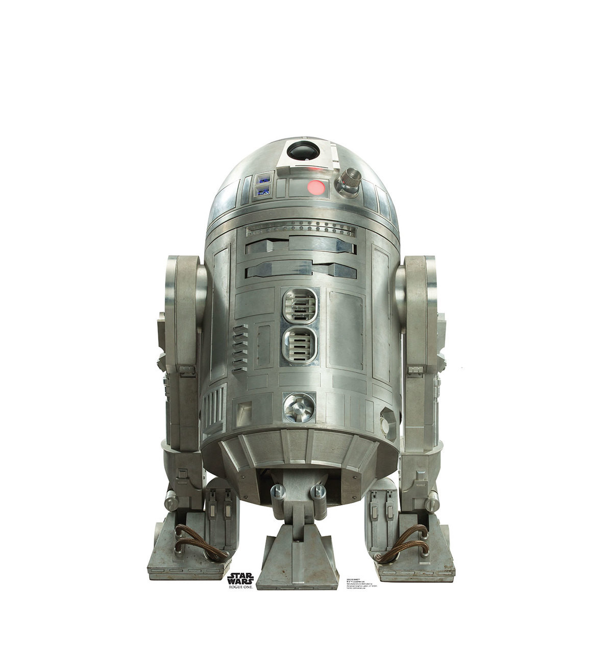 Life-size R2-BHD (Rogue One) Cardboard Standup