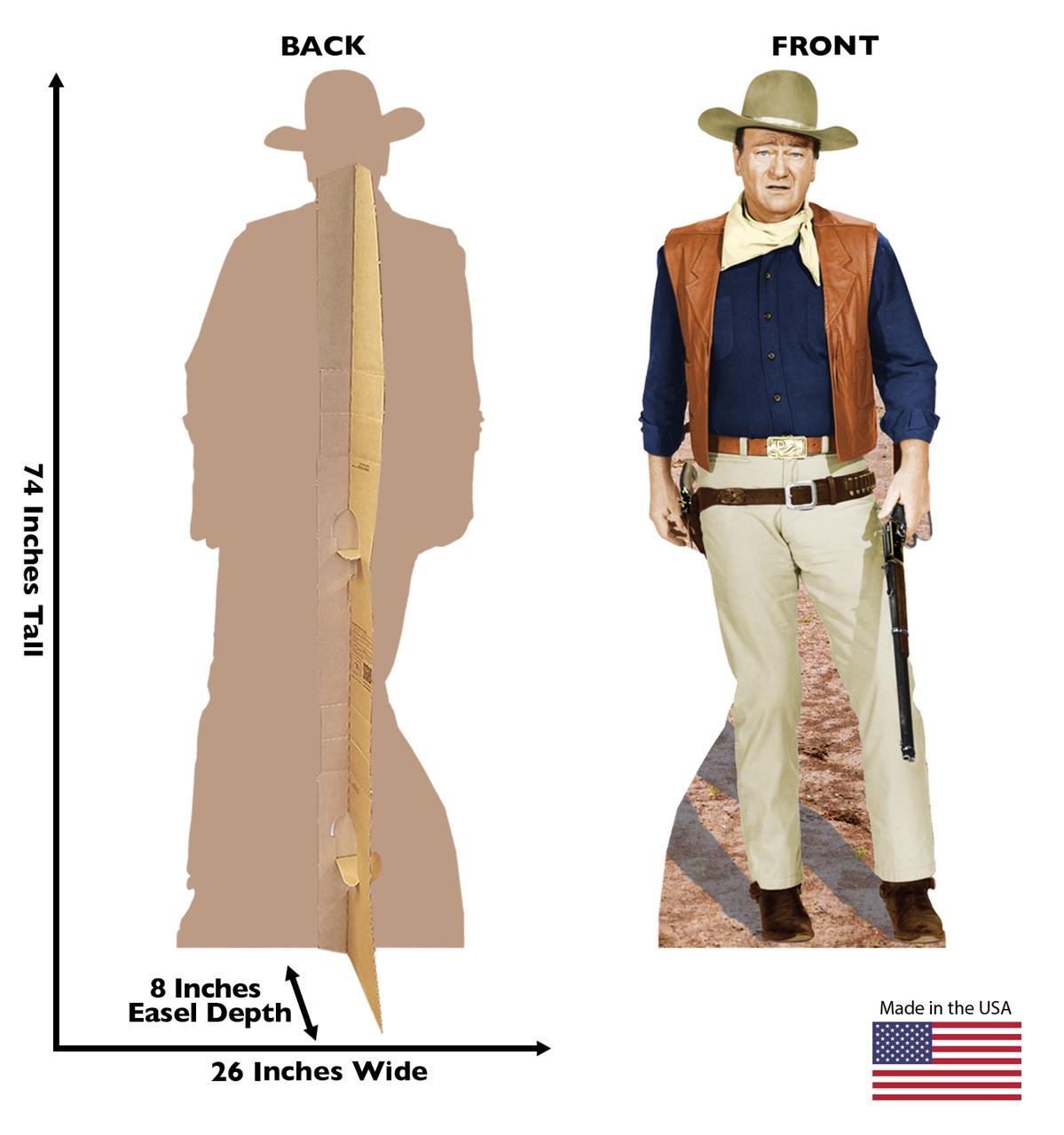 John Wayne-Rifle at Side - Cardboard Cutout 495