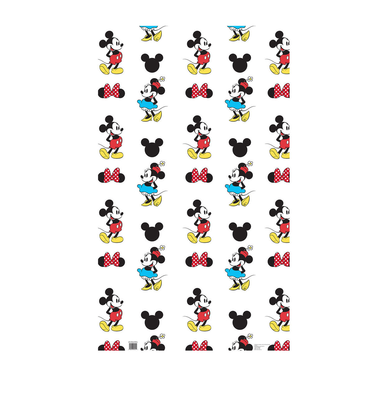 Life-size Mickey and Minnie Step and Repeat Standup Cardboard Standup