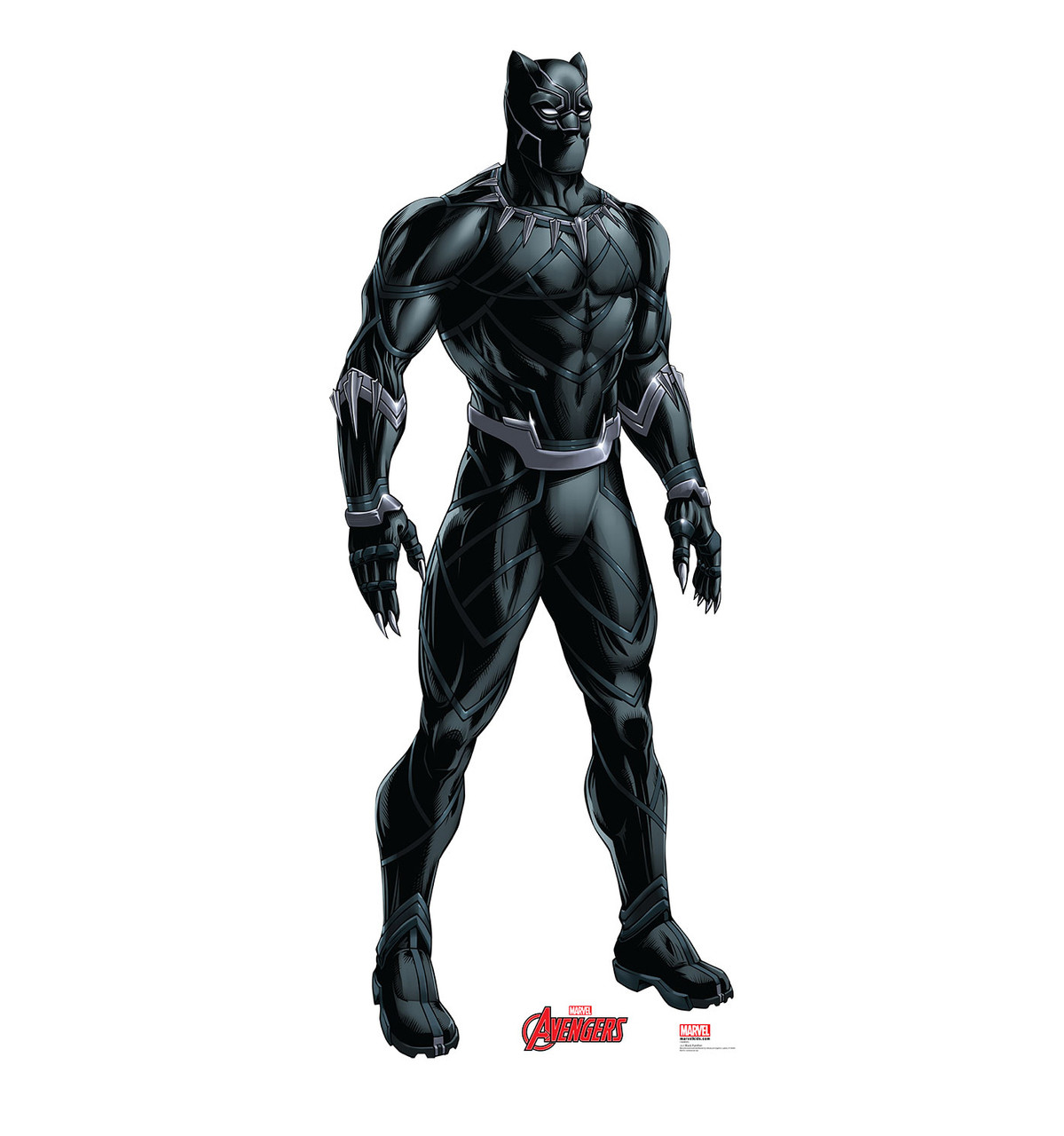 Life-size Black Panther (Avengers) Cardboard Standup