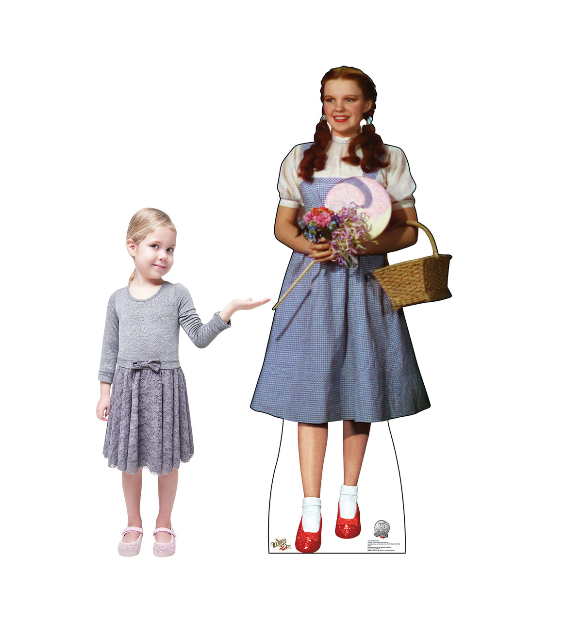 Life-size Dorothy - Wizard of Oz 75th Anniversary Cardboard Standup