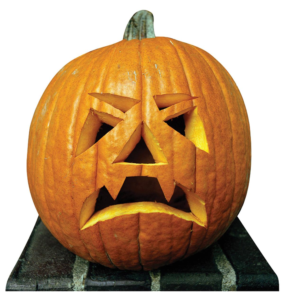 Jack-o'-lantern Pumpkin - Cardboard Cutout 923