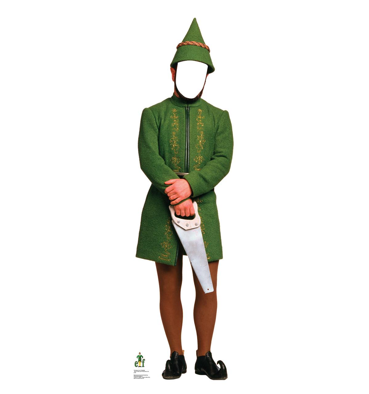 Life-size Male Elf Standin Cardboard Standup