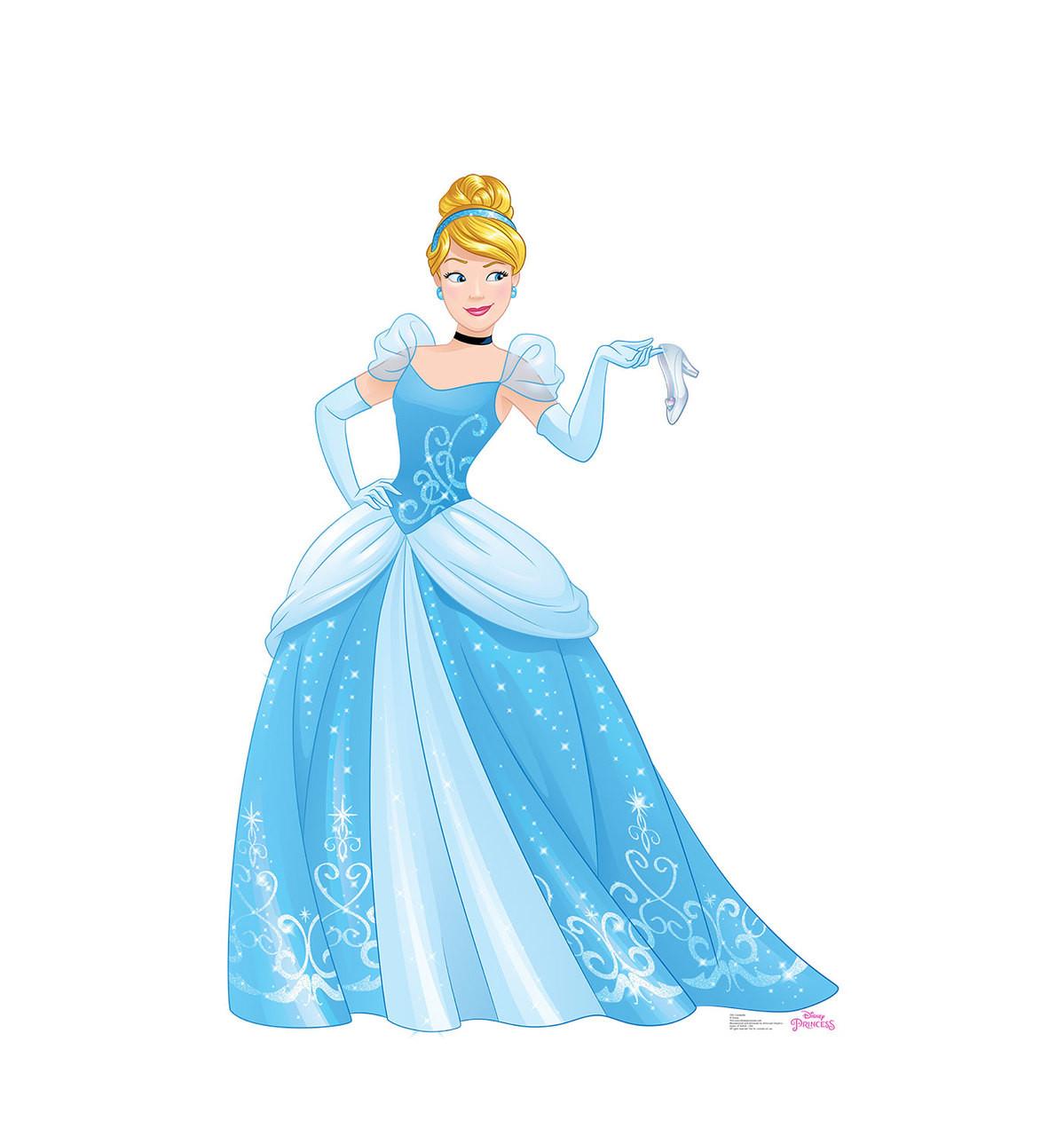 Life-size Cinderella - Friendship Adventures Cardboard Standup