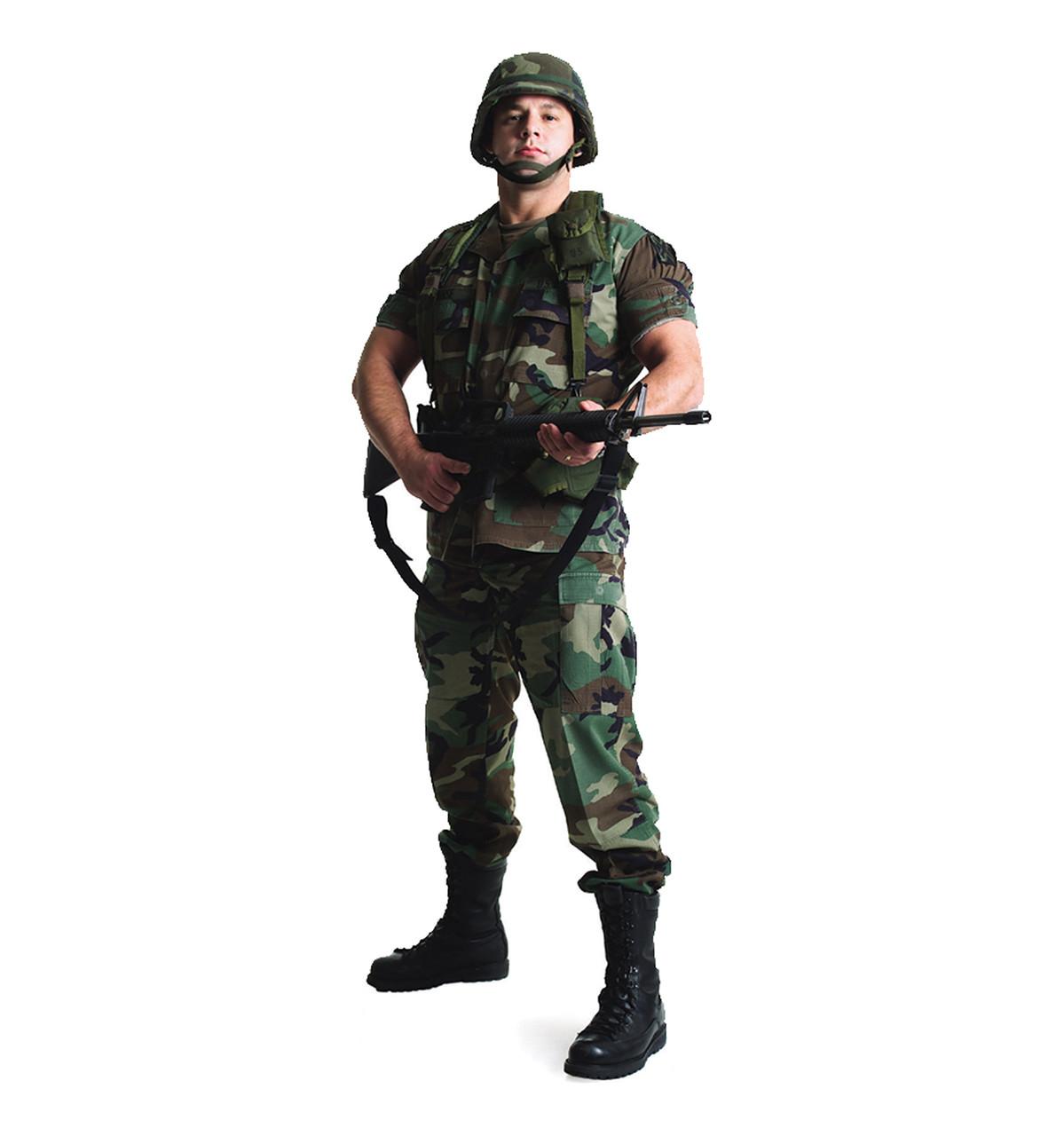 Life-size Army Soldier Cardboard Standup   Cardboard Cutout
