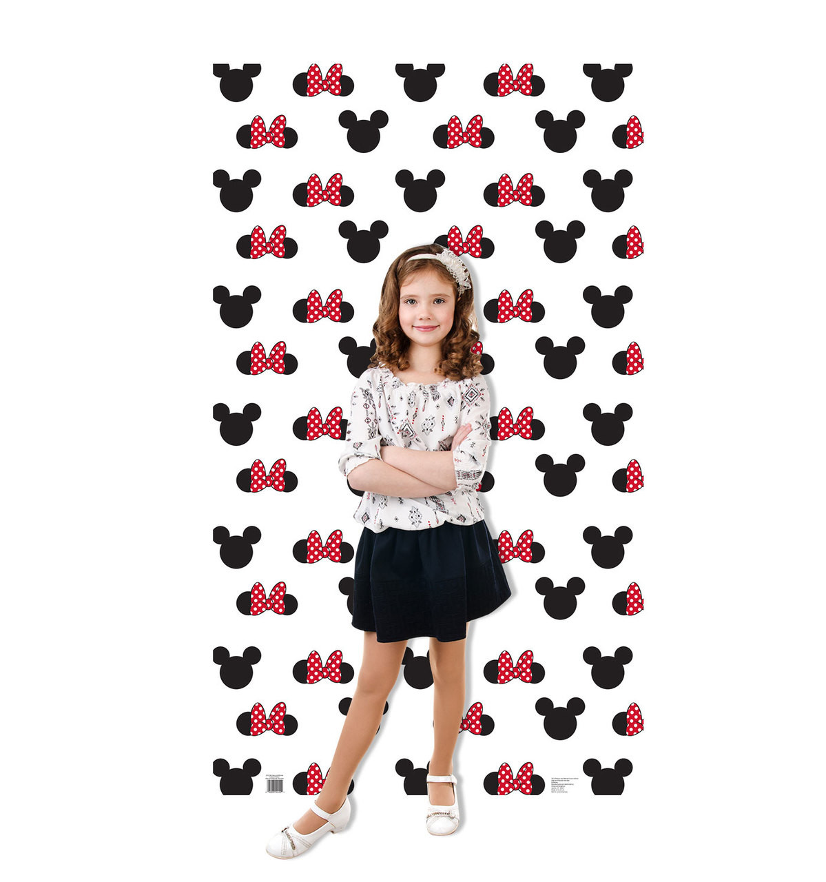 Mickey and Minnie Ears Step and Repeat Standup 2452