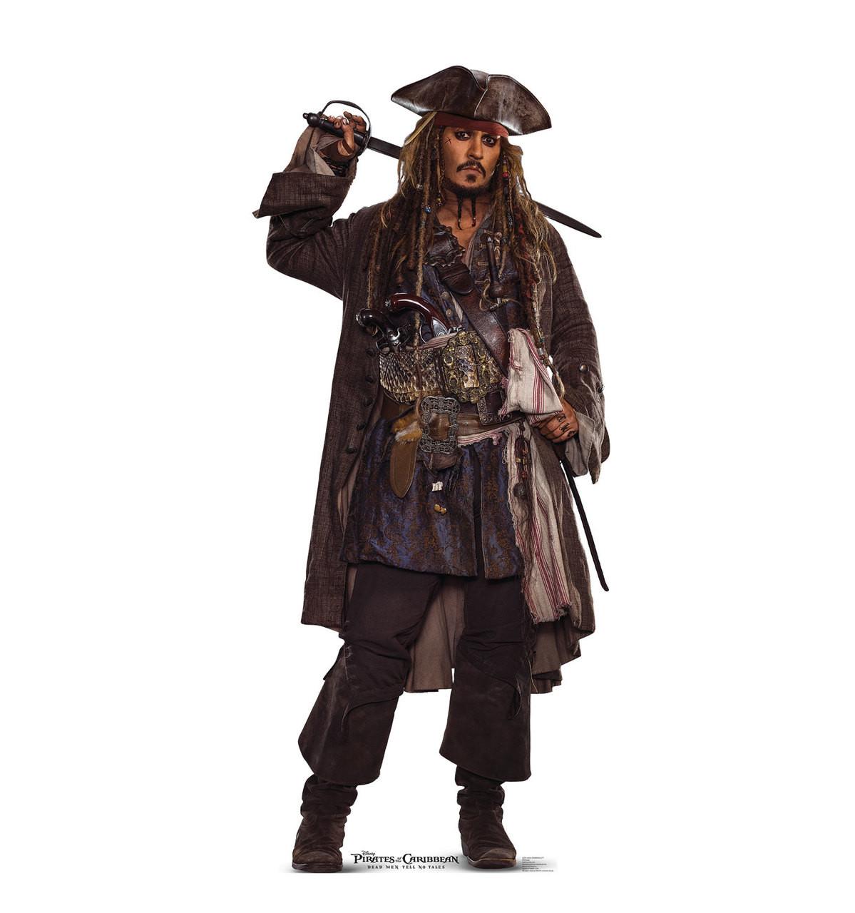 Jack Sparrow 02 - POTC 5 - Cardboard Cutout 2279