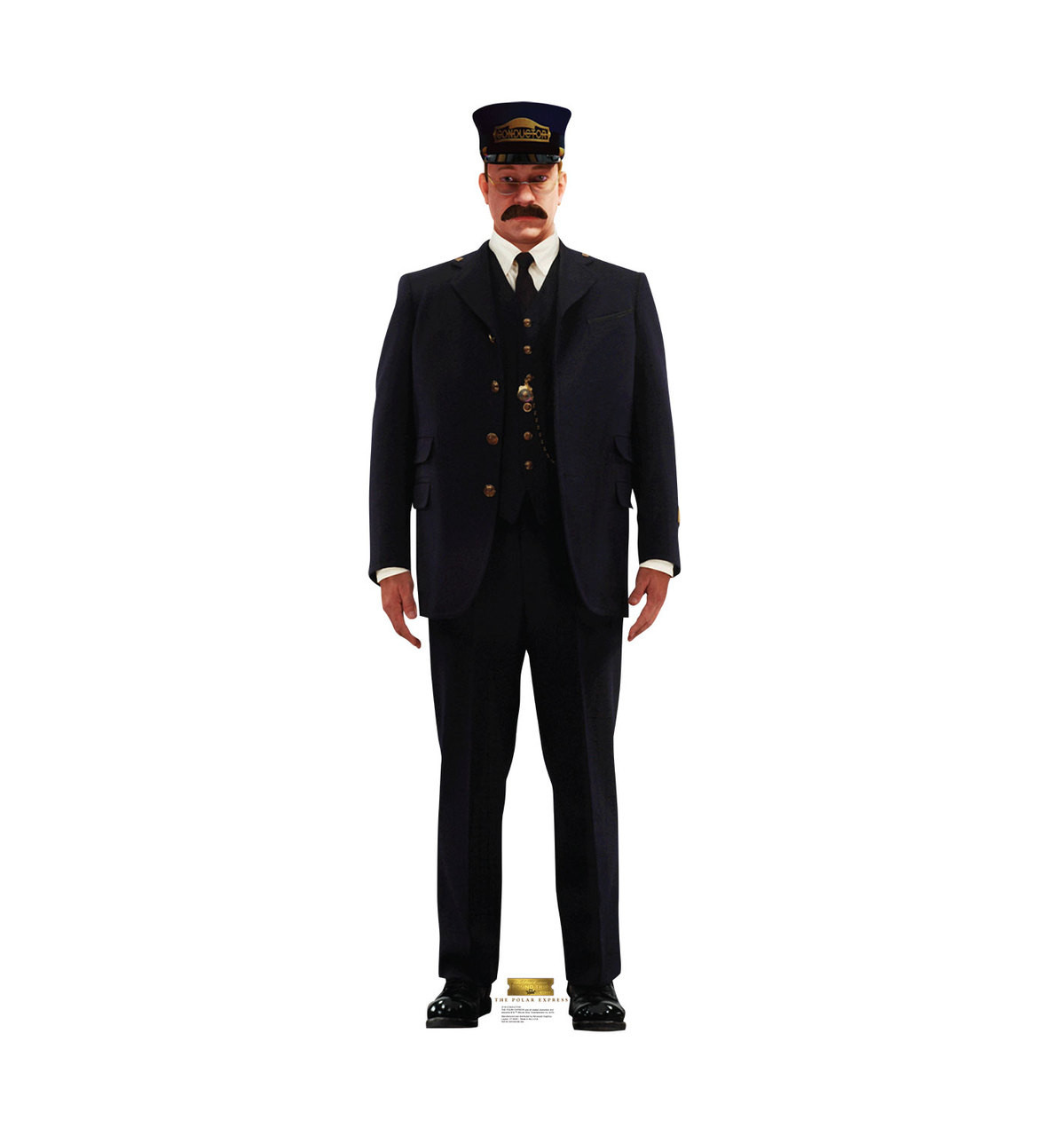 Life-size Conductor - The Polar Express Cardboard Standup