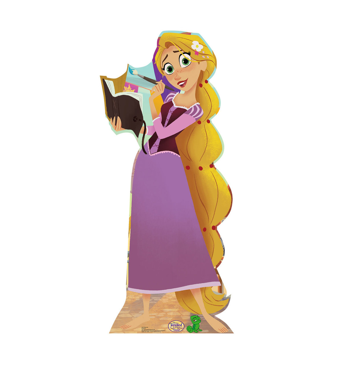Life-size Rapunzel (Tangled The Series) Cardboard Standup |Cardboard Cutout 3