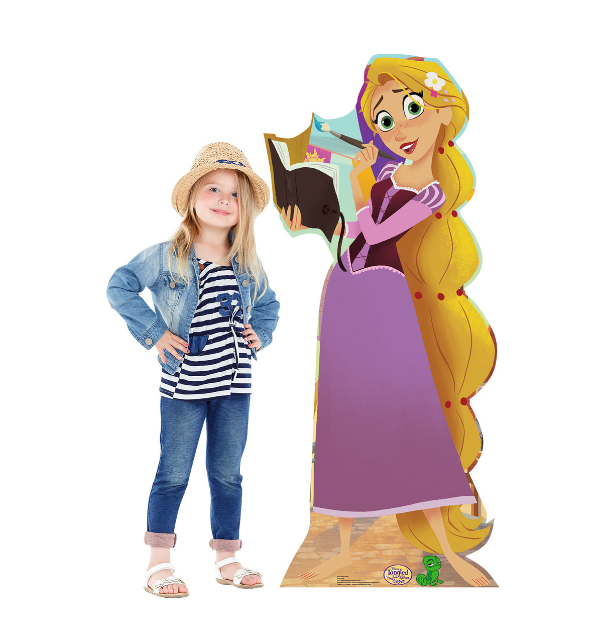 Life-size Rapunzel (Tangled The Series) Cardboard Standup |Cardboard Cutout 2