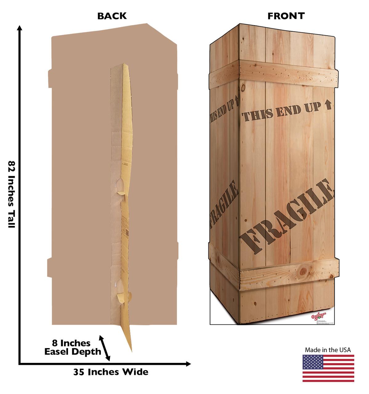 Life Size Fragile Leg Lamp Crate