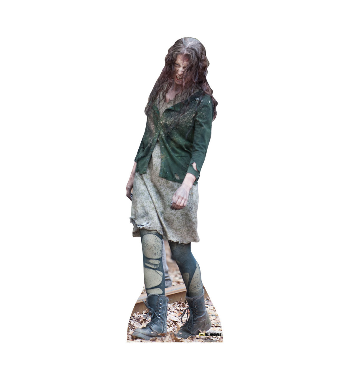 Life-size Walker 02  (The Walking Dead) Cardboard Standup