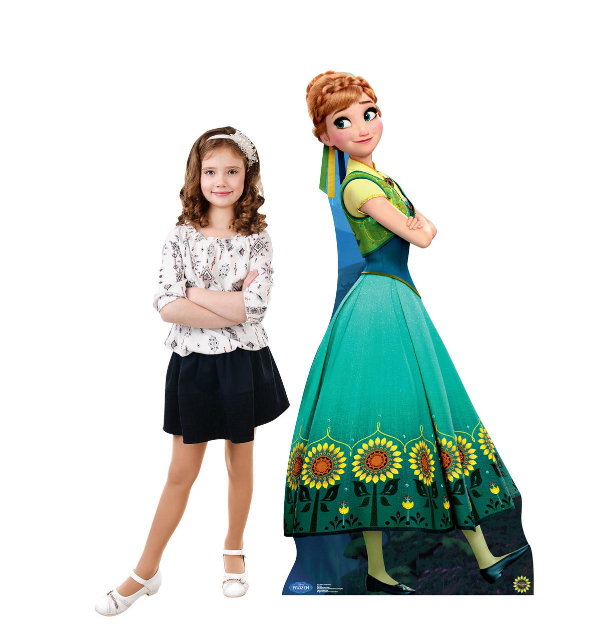 Anna - Frozen Fever - Cardboard Cutout Lifesize