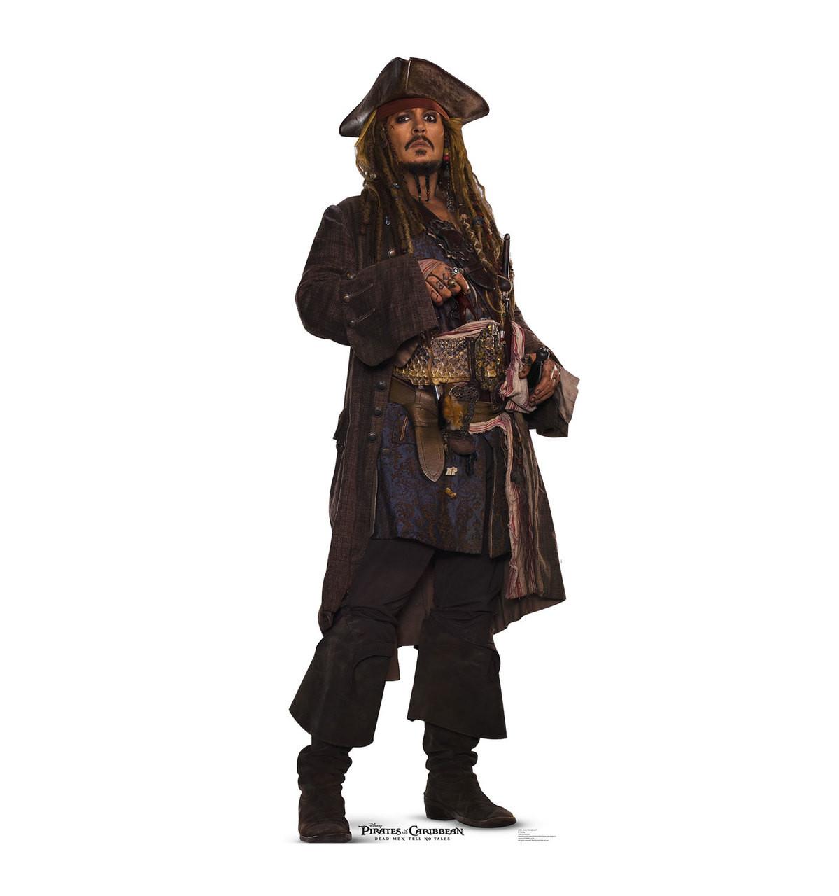 Jack Sparrow POTC 5-Cardboard Cutout 2278