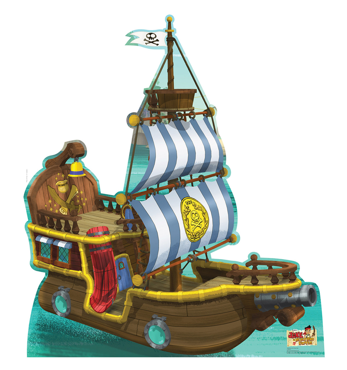 Bucky Pirate Ship
