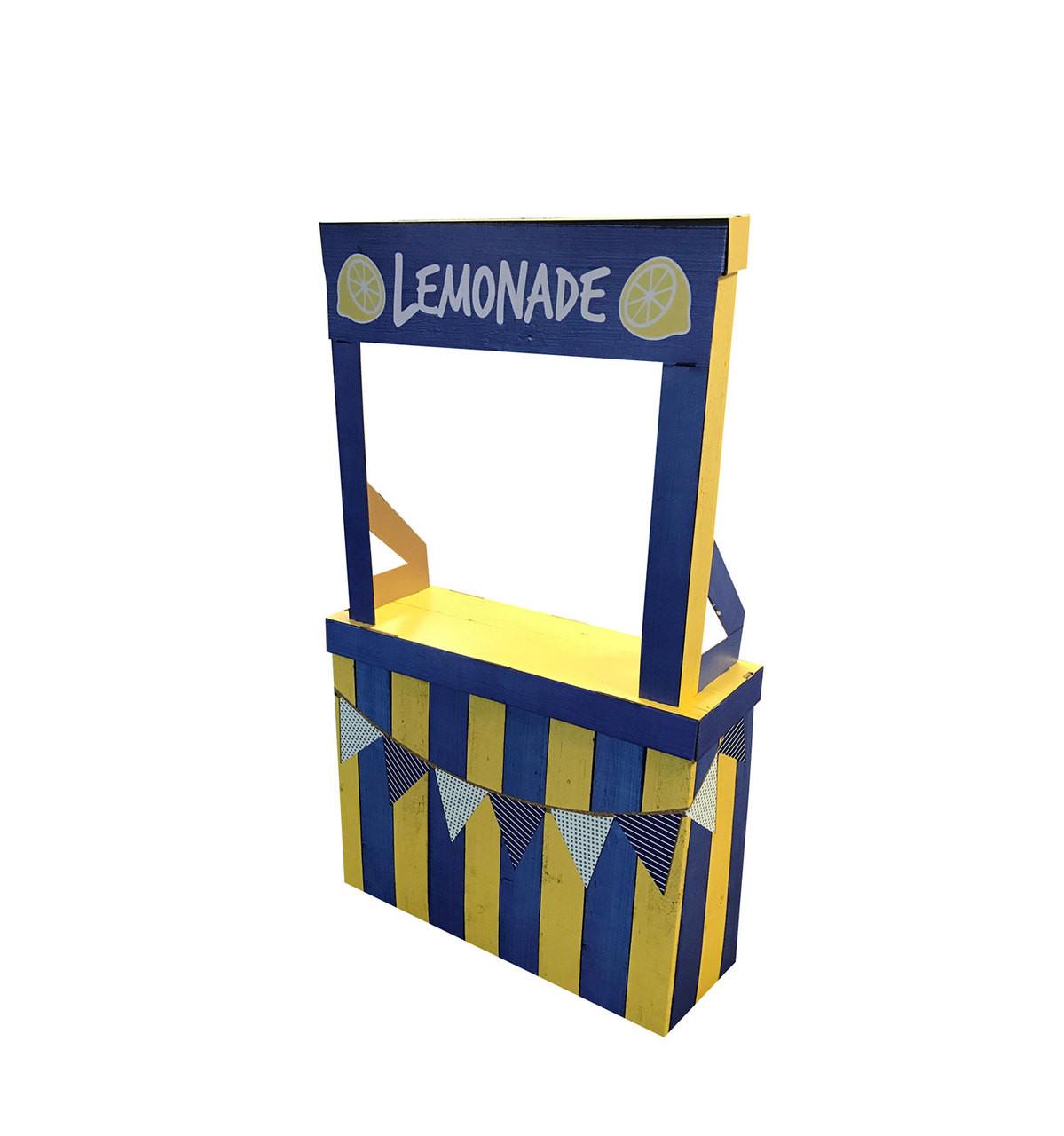 Life-size Lemonade Stand Cardboard Standup  |Cardboard Cutout