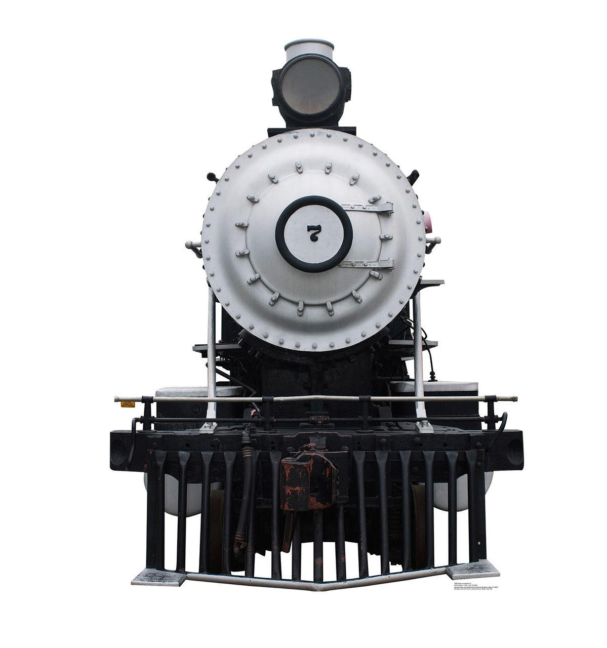 Life-size Steam Locomotive #7 Cardboard Standup  Cardboard Cutout