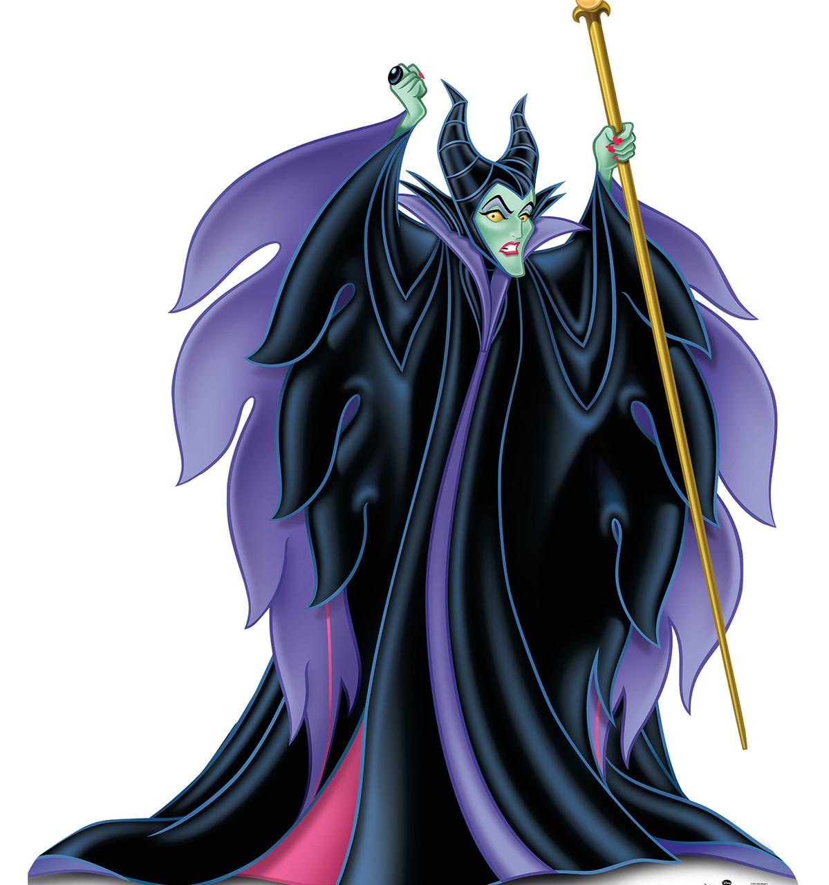 Maleficent Disney Villains Cardboard Cutout