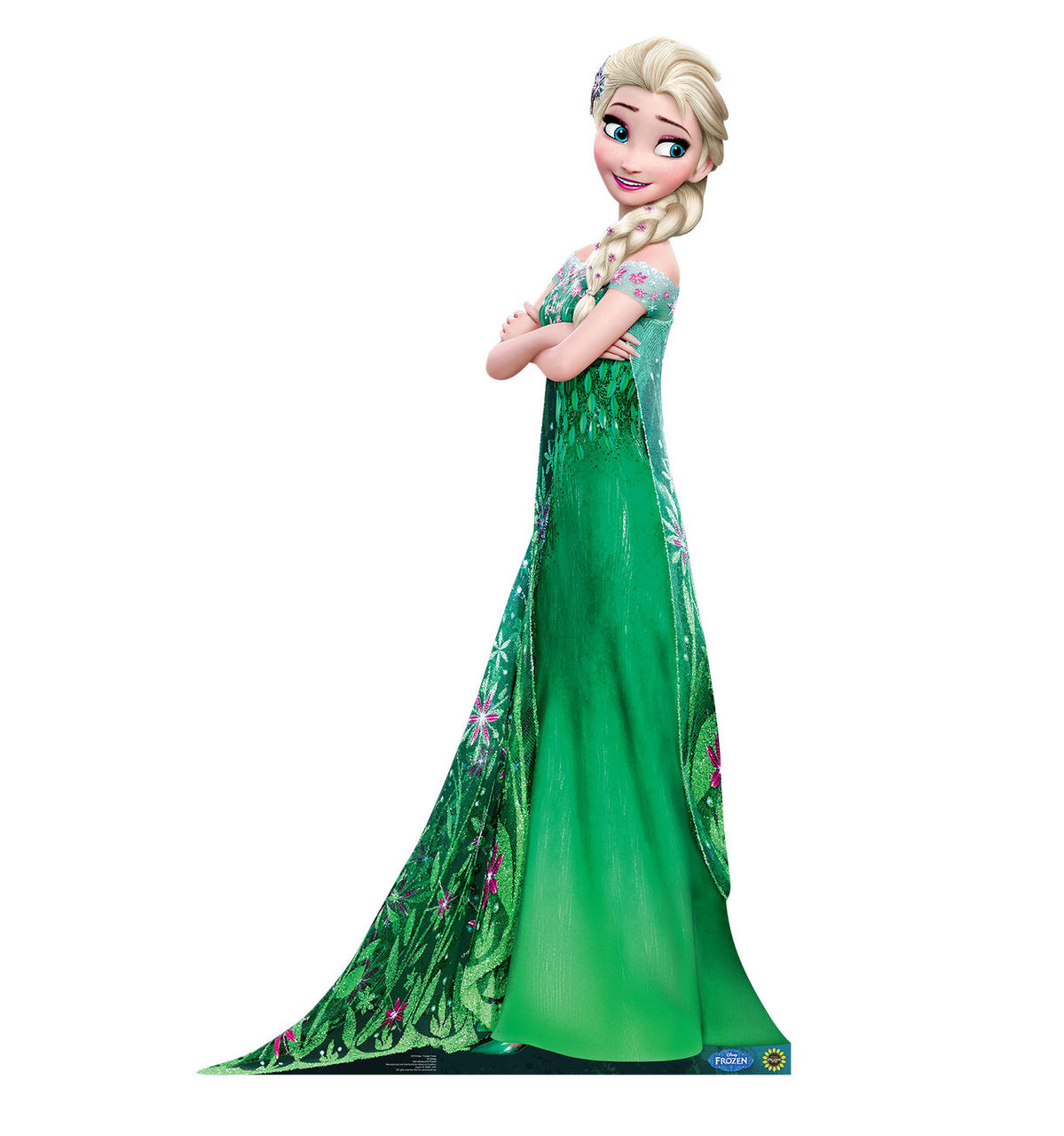 Life-size Elsa - Frozen Fever Cardboard Standup 2